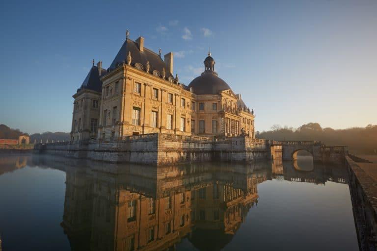 Château de Vaux-le-Vicomte, près du château de Fontainebleau