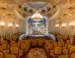 Réouverture du théâtre Impérial au château de Fontainebleau