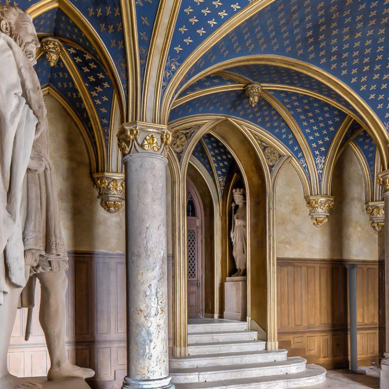 The Saint Louis Vestibule - Château de Fontainebleau