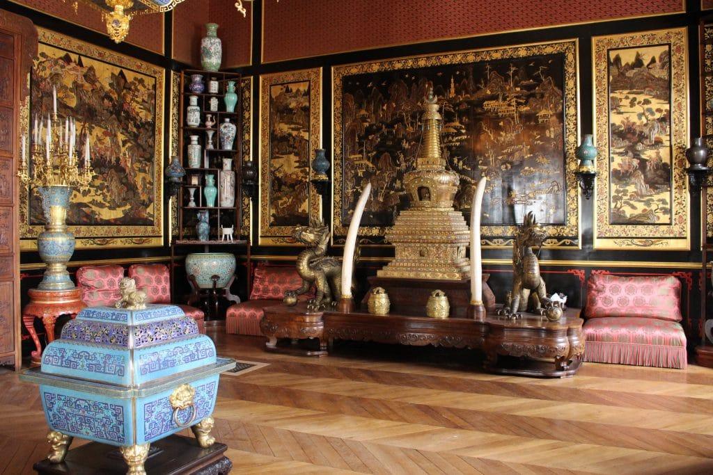 Китайский музей дворца Фонтенбло