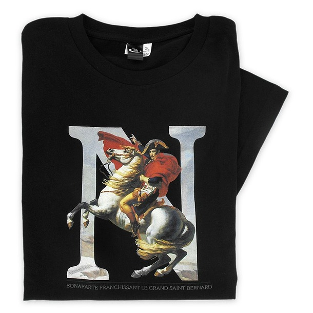 T-shirt «Napoléon» – Noir Taille S