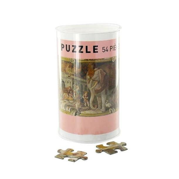 Puzzle 54 pièces – Éléphant royal