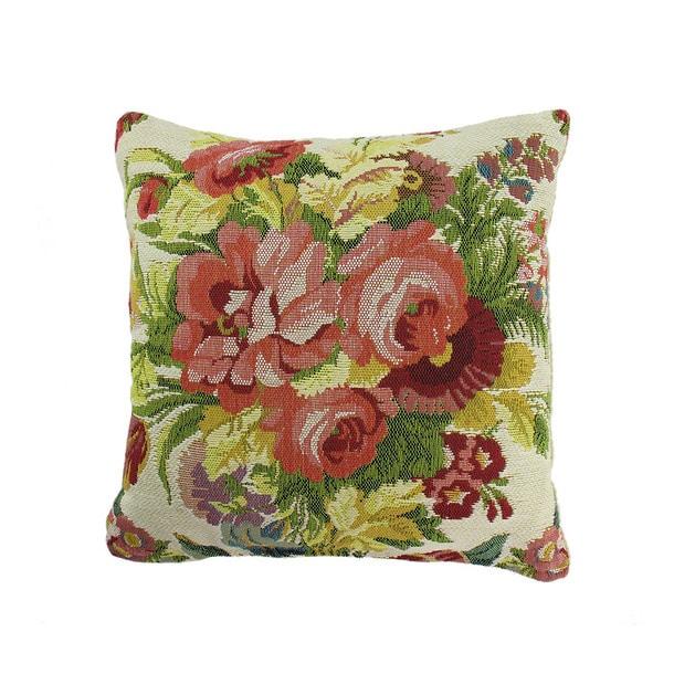 Coussin tapisserie Bouquet