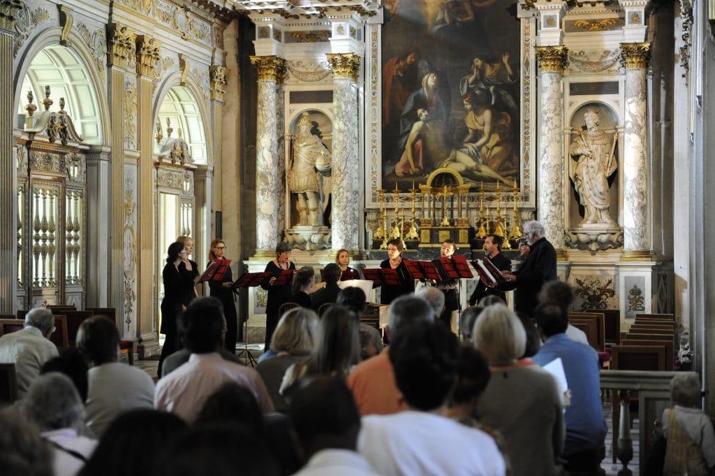 Concert chapelle Trinité Amis de l'orguede Fontainebleau - © Château de Fontainebleau - Frédéric Perrot1