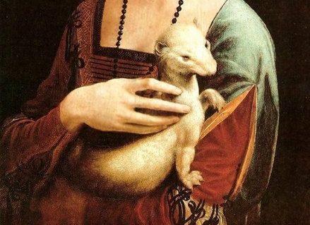 Festival de l'histoire de l'art 2022 - Le Portugal et l'Animal - La dame à l'Hermine, Léonard de Vinci
